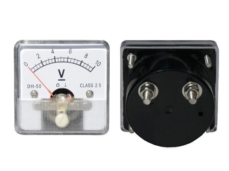 Analógový voltmeter 10 VDC